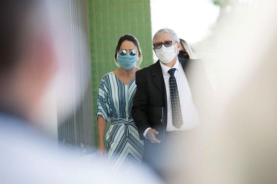 Marluce, empresária acusada de agredir profissionais de saúde na Praça dos Três Poderes