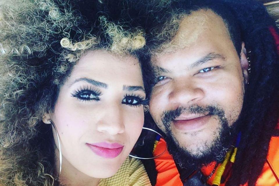 Babu Santana e Tatiane Melo