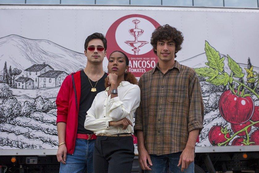 Danilo Mesquita, Lellezinha e Jaffar Bambirra