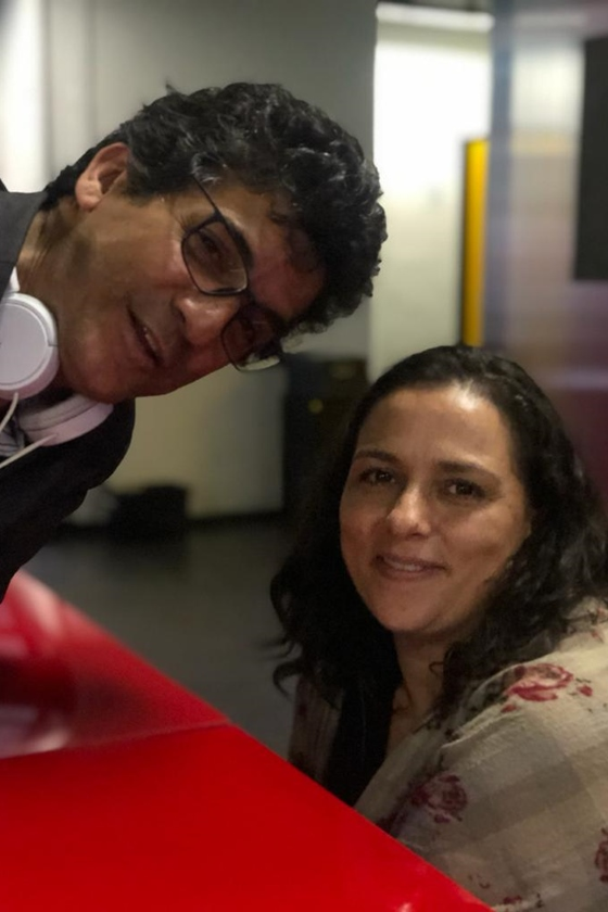 Júlio Uchoa e Irina Neves