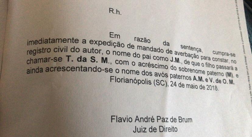 Processo paternidade do ministro do STJ Jorge Mussi