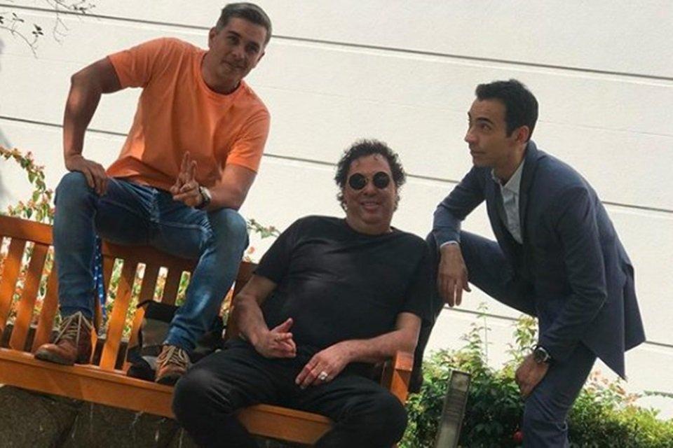Ivan Moré, Casagrande e Cesar Tralli juntos