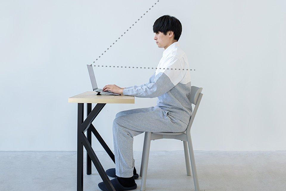 pijama com camisa social e moletom para videoconferências