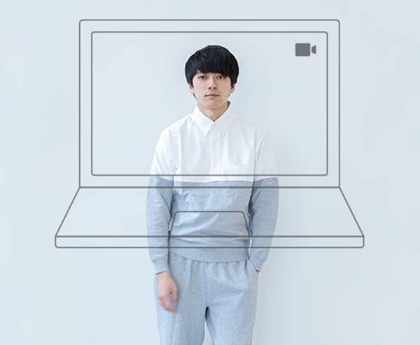 pijama que mistura moletom e camisa social para videconferências