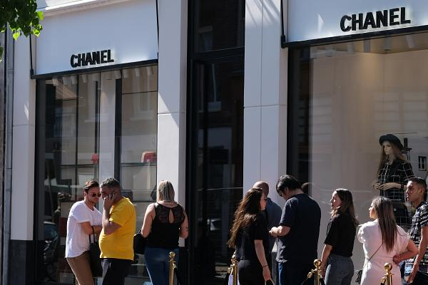 The Facade Of Chanel's Amsterdam