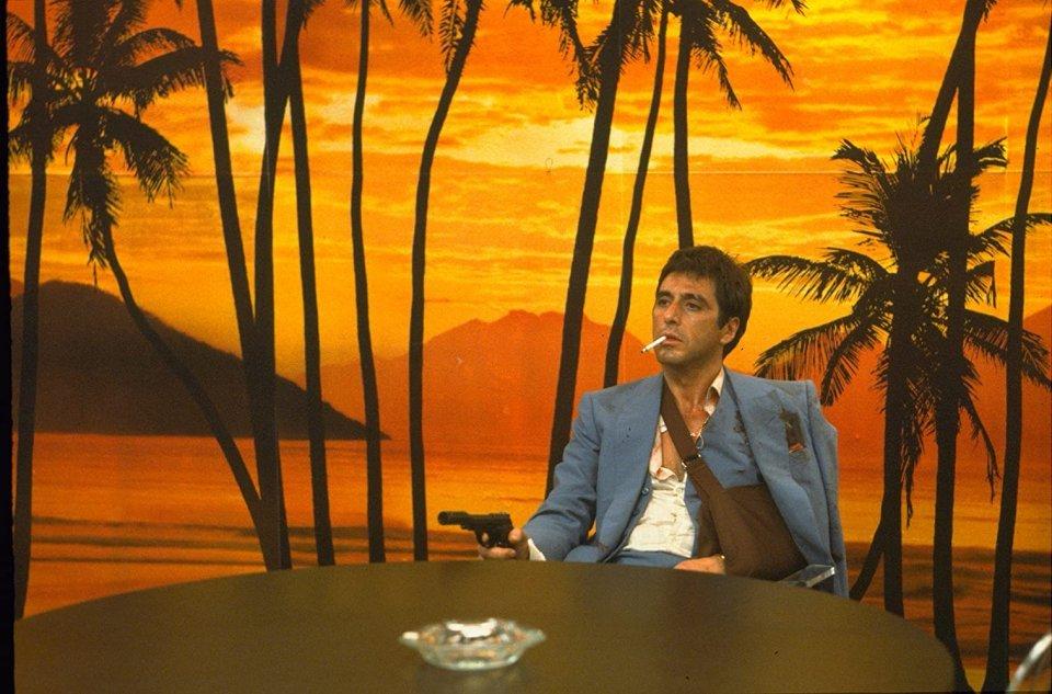 Al Pacino em Scarface