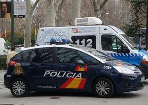 Polícia da Espanha