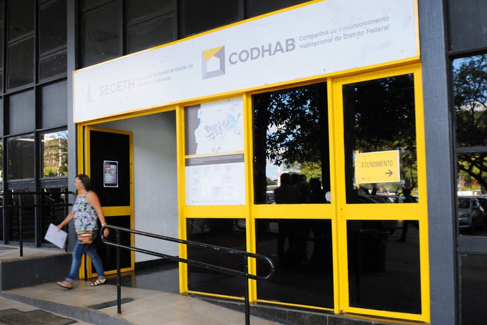 fachada da Codhab
