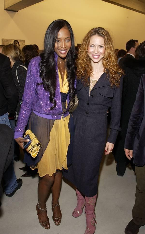 Naomi Campbell e Yvonne Scio