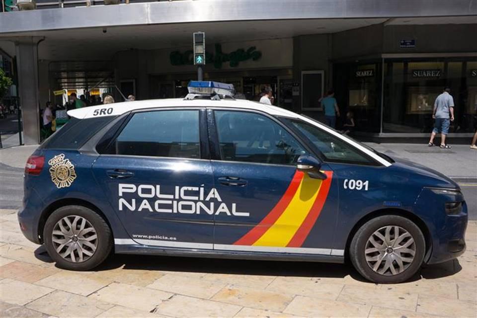 Viatura polícia espanhola