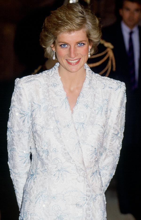 Diana em evento de caridade francês, em 1988