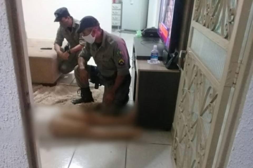 Mulher agredida a marteladas em Goiânia