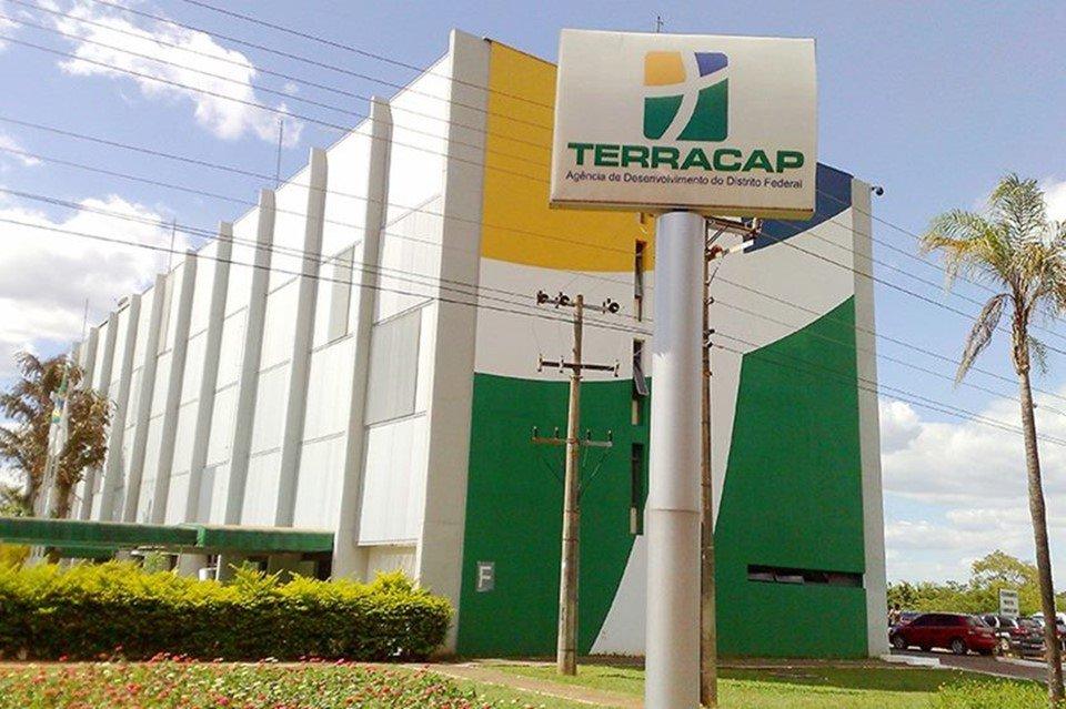 Vista externa da sede da Terracap