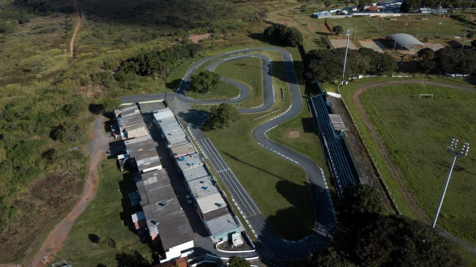 O Kartódromo do Guará, que foi lacrado pela administração local