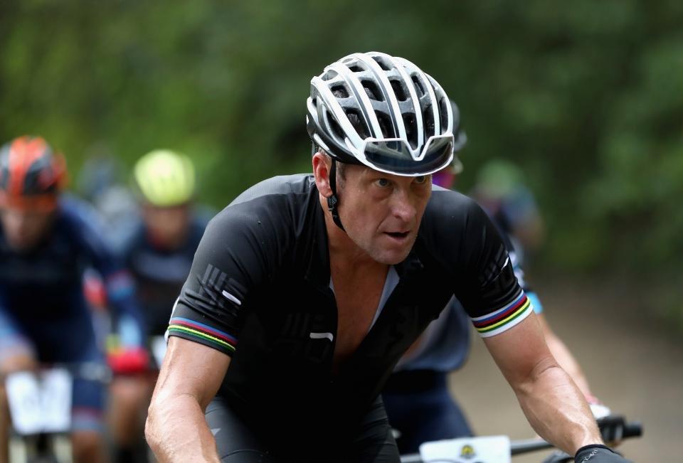 O ex-ciclista Lance Armstrong