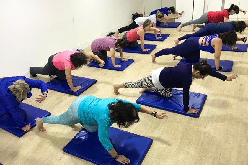 Atividade física na clínica Ravenna