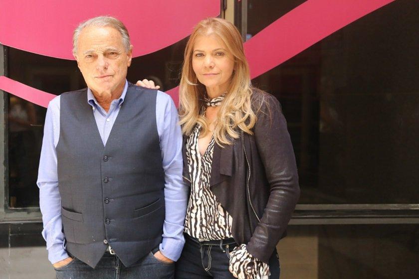 Máximo Ravenna e Moema Soares
