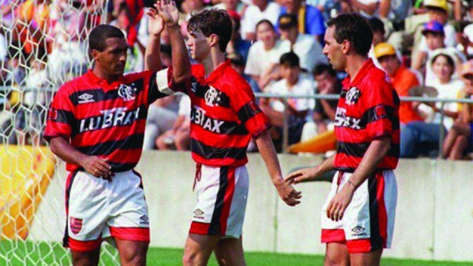 Sávio, Romário e Edmundo, Flamengo