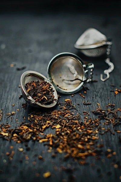 especiarias de chá