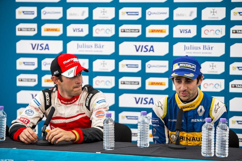 Bruno Senna e Nicolas Prost
