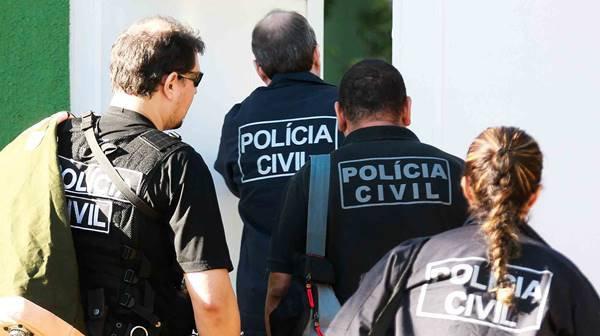 Policiais civis no DF