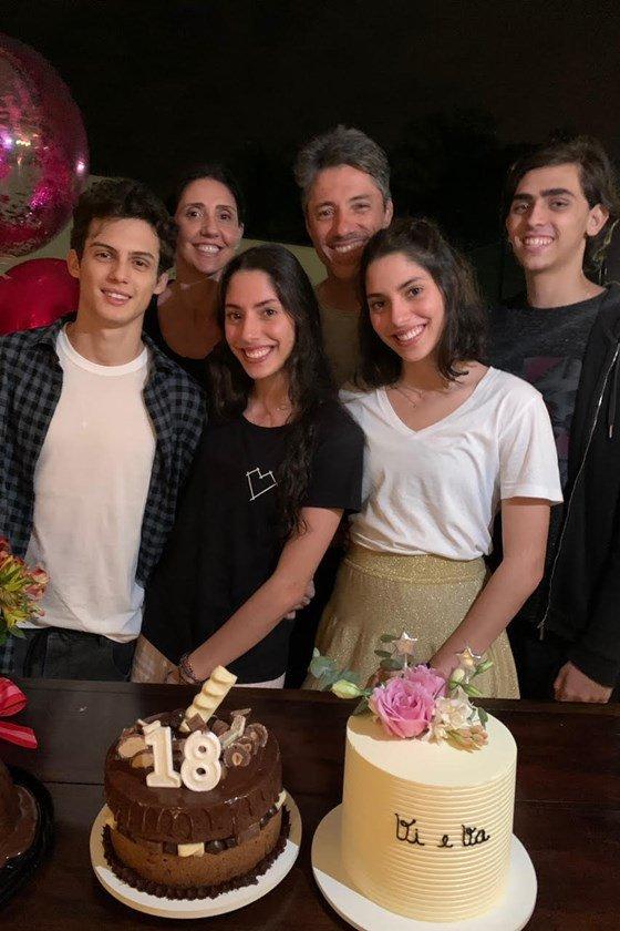 Luca Slaviero, Vittoria Foresti, Renata Foresti, Rogerio Roseo, Valentina Foresti e Carlos Coca Elias