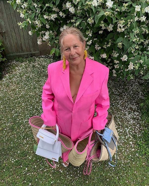 Liline Jacquemus com várias bolsas