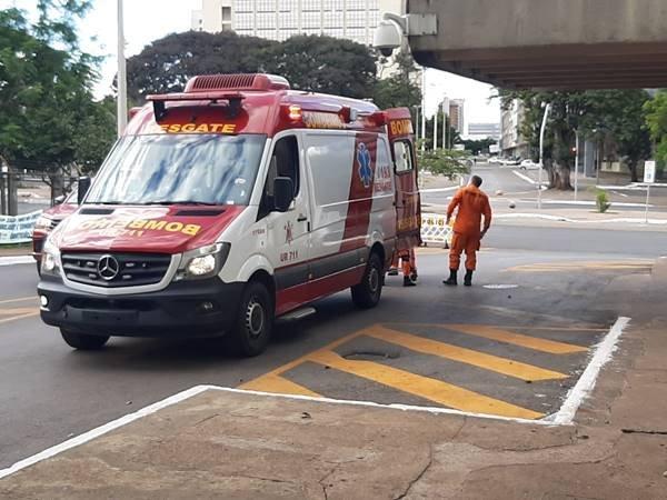 Ambulância do Corpo de Bombeiros