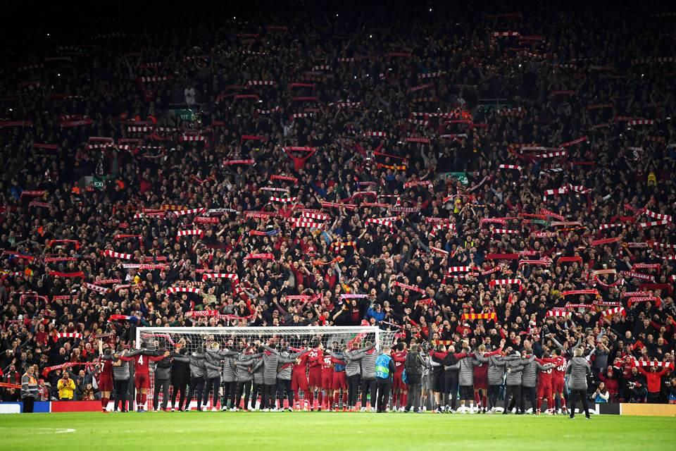 Torcida do Liverpool