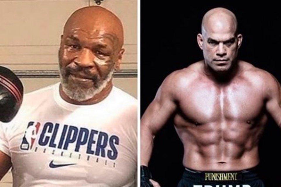 Tito Ortiz e Mike Tyson