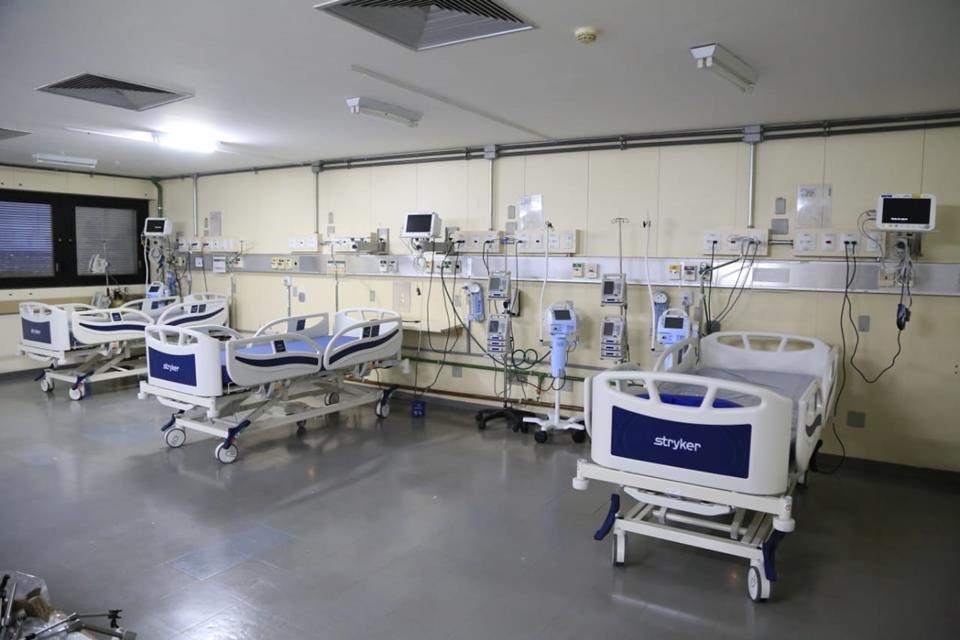 2 leitos de UTI no Hospital de Base