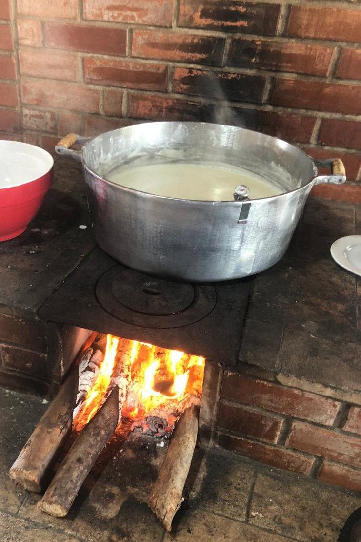 produção de doce de leite