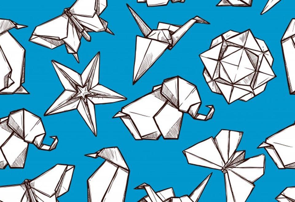 Origamis na quarentena