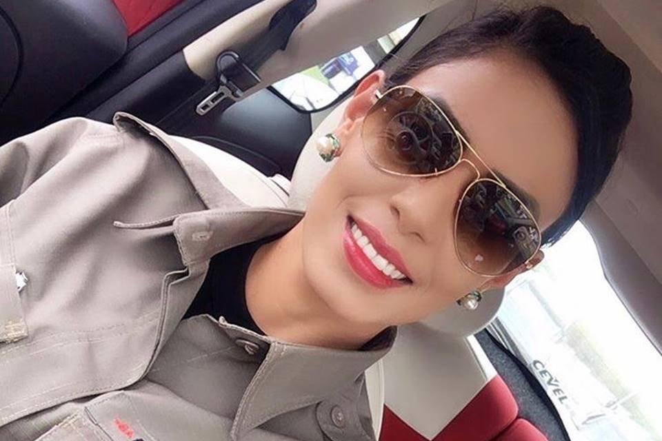1º sargento da PMGO, Fernanda da Sampaio Fonseca, presa na blitz da Lei seca em Brasília