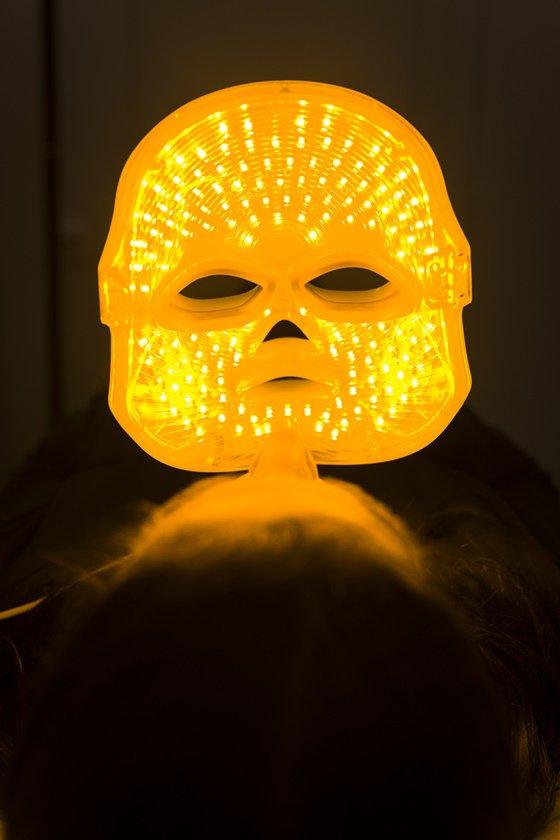 Interior da máscara de LED