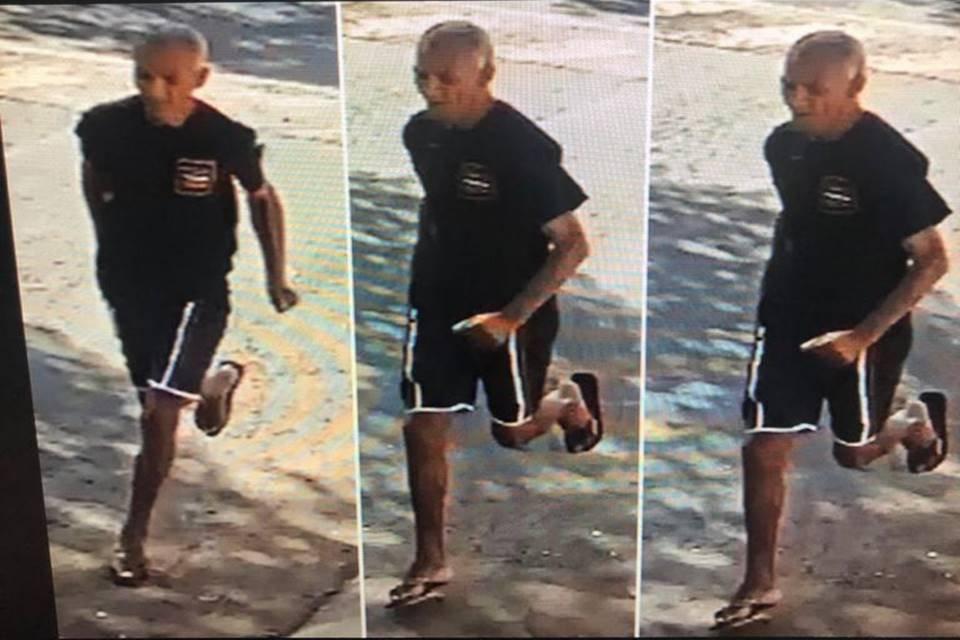Homem suspeito de agredir uma criança para roubar celular no Guará
