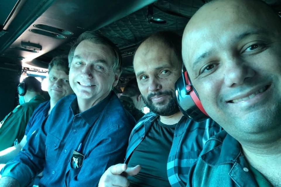 Bolsonaro visita Abadiânia