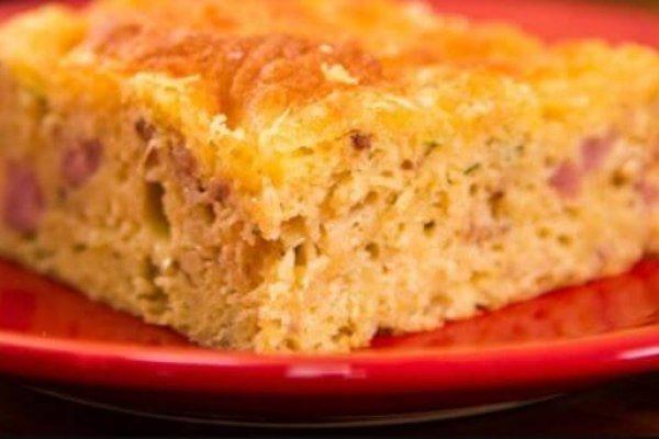 Torta low carb de milho