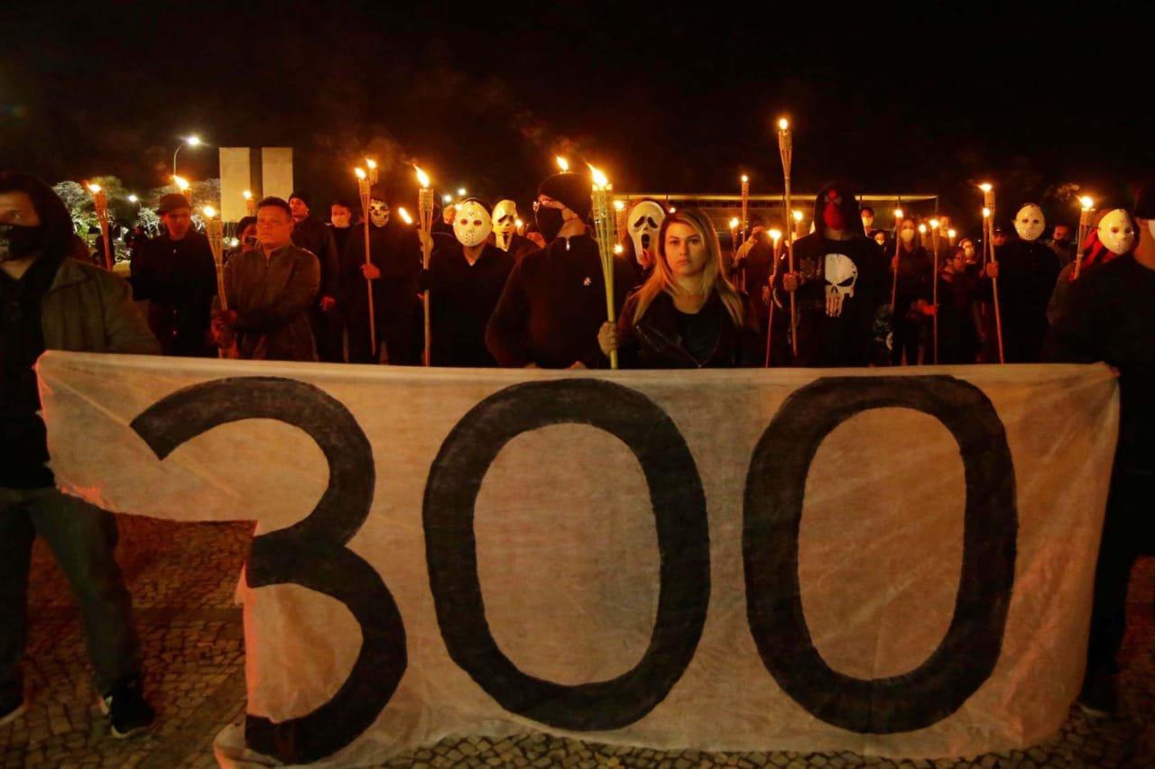 protesto 300 do Brasil no STF