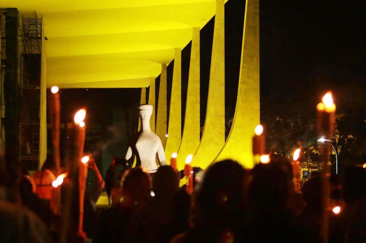 protesto do grupo 300 do Brasil