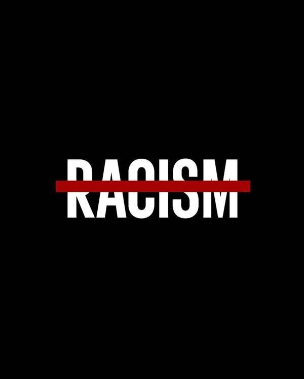 post da Adidas contra o racismo