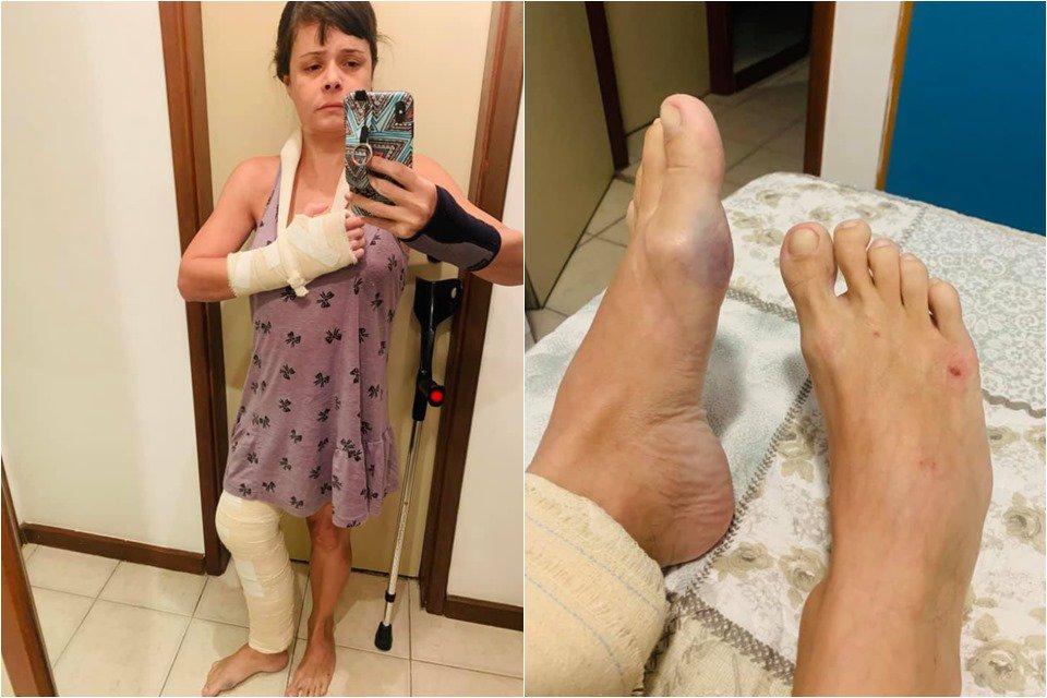 Ticyana médica agredida