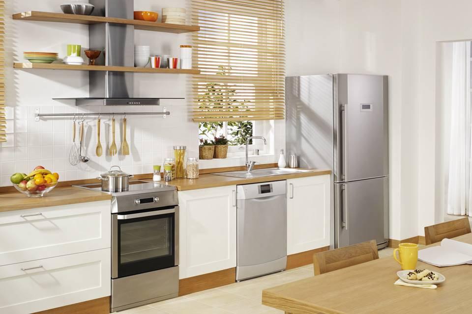 Cozinha com utensílios