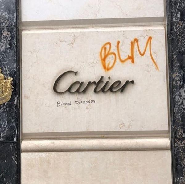 Placa Cartier