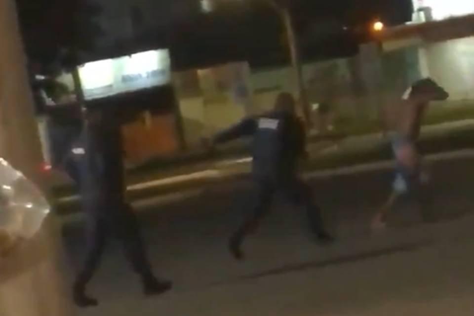 Agressão de PM a homem negro em Planaltina