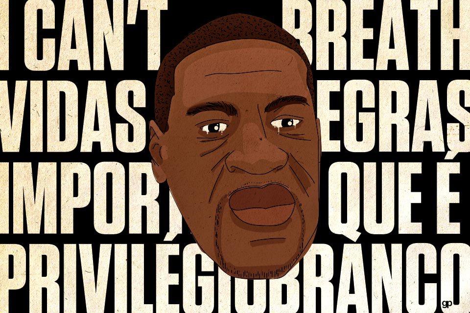 George Floyd - João Pedro - Vidas Negras Importam