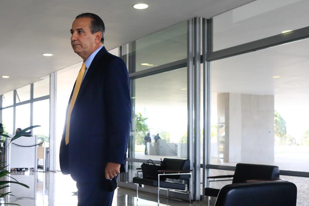 Pastor Silas Malafaia chega ao Planalto para orar com Bolsonaro
