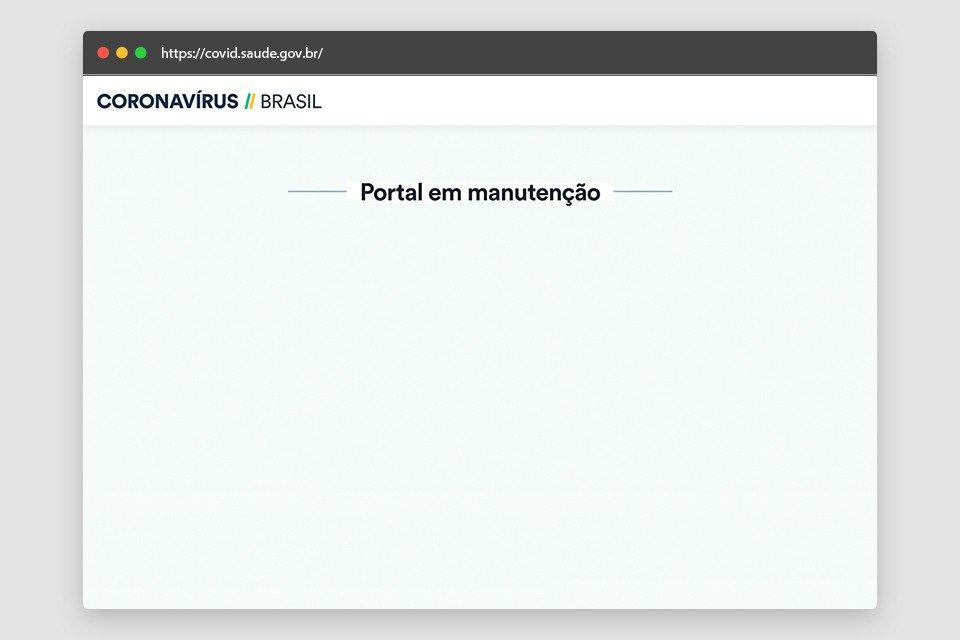 Portal do Ministério da Saúde