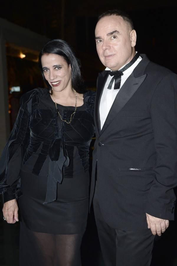 Gloria Coelho e Reinaldo Lourenço