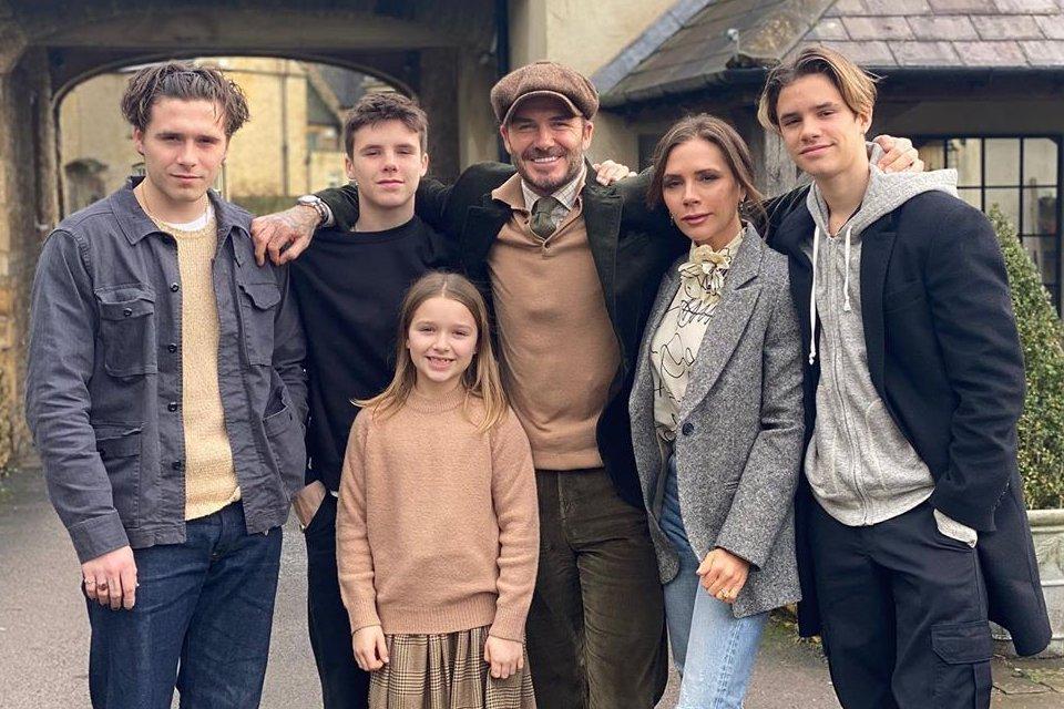 família Beckham